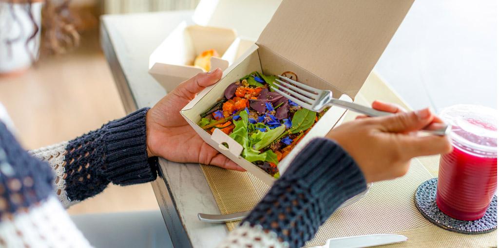 ideas de almuerzos saludables, casero saludable a domicilio